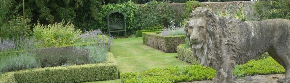 local herb garden